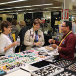 Guests at the Tucson Gem and Jewelry Show at the Tucson Expo Center
